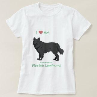 Camiseta black finlandés Lapphund shirt - lapinkoira