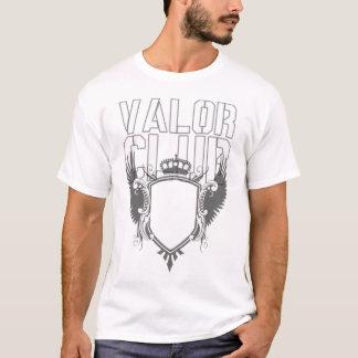 Camiseta blanca básica del club del valor