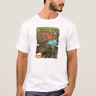 Camiseta blanca de la época del mutante