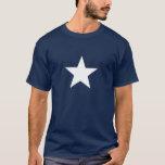 Camiseta blanca de la estrella