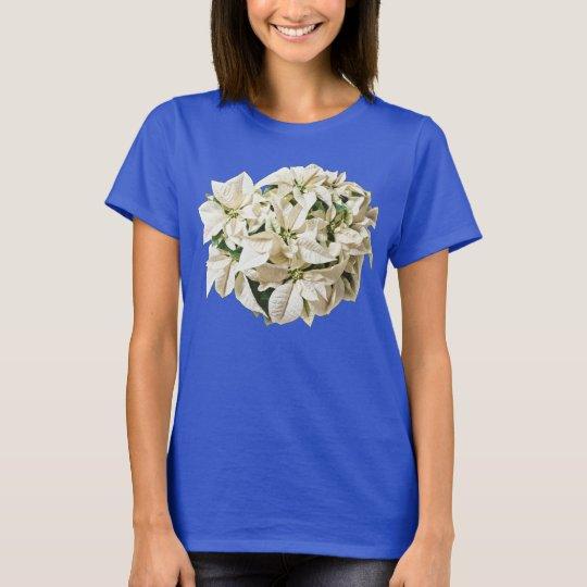 Camiseta blanca de los Poinsettias