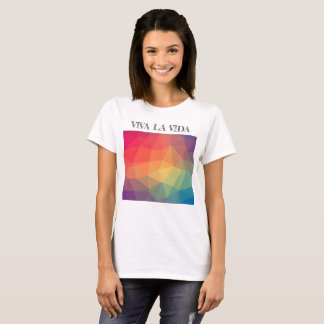 Camiseta blanca de Vida del La de Viva