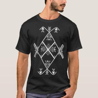 Camiseta blanca del diseño del arte de Amazigh