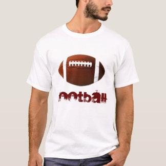 Camiseta blanca del fútbol del arte pop - deportes