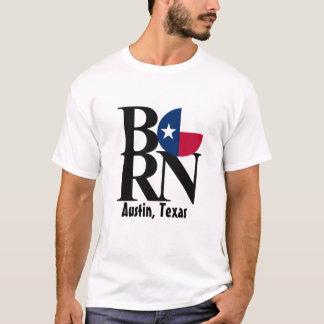 Camiseta blanca para hombre NACIDA de Austin Tejas