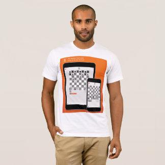 Camiseta Blanco de ChessME