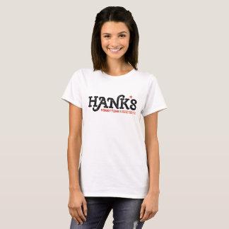 Camiseta Blanco de Tonk del Honky de Hank (mujeres)