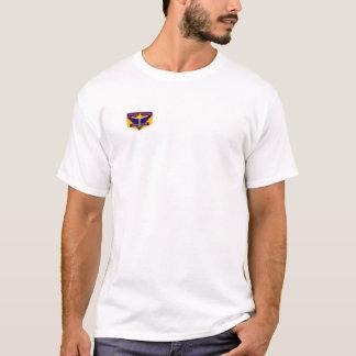 Camiseta Blanco del ABA ambos lados