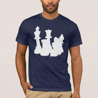 Camiseta Blanco del juego de ajedrez