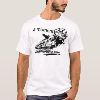Camiseta Blanco superior T - logotipo del tren