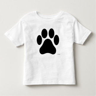 Camiseta blanco y negro del niño de la impresión