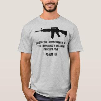 Camiseta Blessed sea el señor mi fuerza…