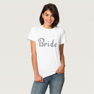 Camiseta bling de la novia
