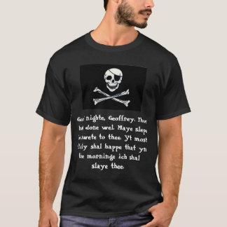 Camiseta Blog de Chaucer: Drede Pyrate