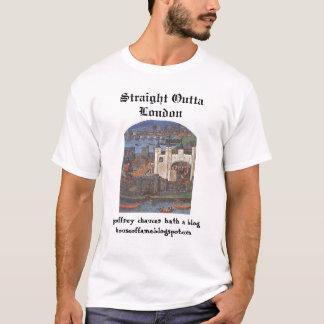Camiseta Blog de Chaucer: Ovtta recto Londres