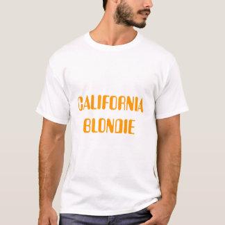 Camiseta blondie de California