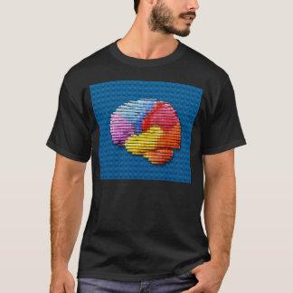 Camiseta Bloques del cerebro