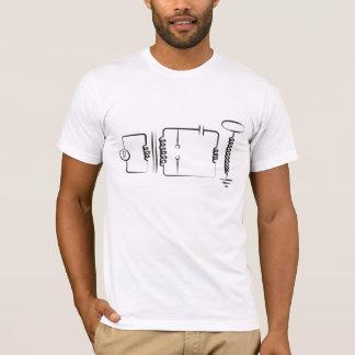 Camiseta Bobina de Tesla