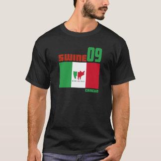 Camiseta Boda 2009 de Cancun de los cerdos