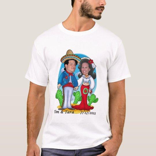 Camiseta Boda de Tara y de Tim