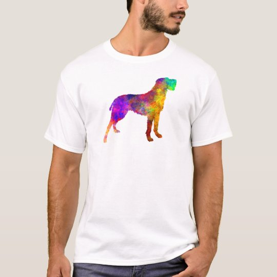 Camiseta Bohemian Wirehaired Pointing Griffon in watercolor