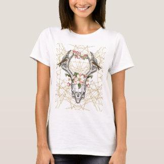 Camiseta Boho Skull