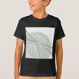 Camiseta Bola que hace punto simple del hilado