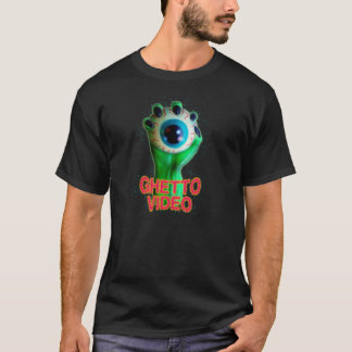 Camiseta Bola video del ojo del monstruo del ghetto
