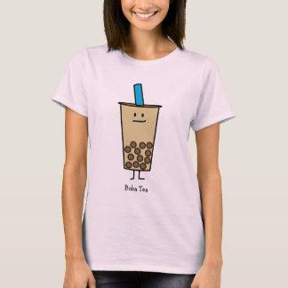 Camiseta Bolas de la tapioca del té de la leche de la perla