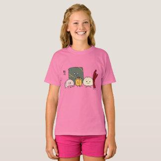 Camiseta Bollo chino de los bollos de la bola de masa