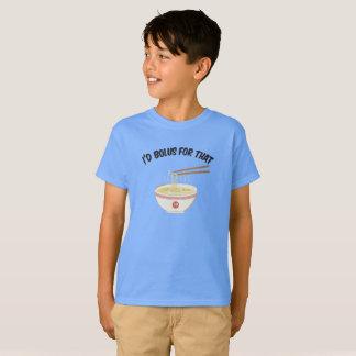 Camiseta Bolo para ese (azul de Carolina)
