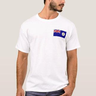 Camiseta Bolsillo colonial T de la bandera de Bahamas