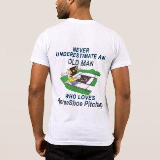 Camiseta Bolsillo de encachado de herradura T de American