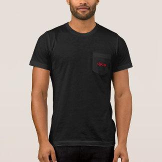 Camiseta Bolsillo negro T 2,0 de SDHCOA