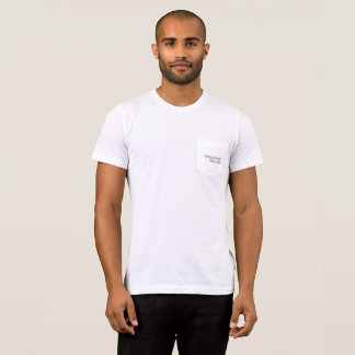 Camiseta Bolsillo-T de perforación estilizado de los