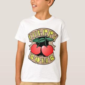 Camiseta Bomba de cereza 1413032011 Inverso (eje de