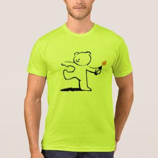 Camiseta Bombardero del peluche de Banksy