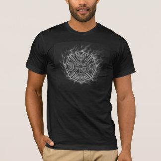 Camiseta Bombero de la cruz maltesa