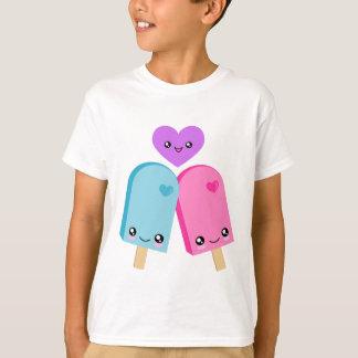 Camiseta bonita de los Popsicles BFF Kawaii