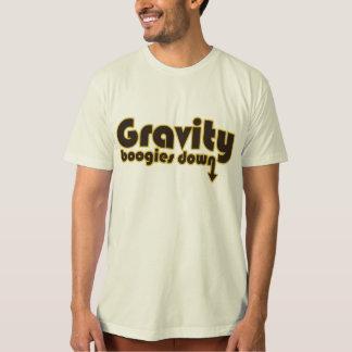 Camiseta Boogies de la gravedad abajo