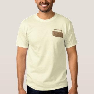 Camiseta Bordada Cesta