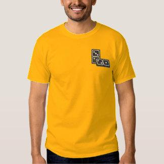 Camiseta Bordada Dominós