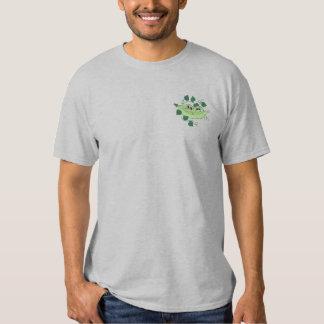 Camiseta Bordada Dos guisantes en una vaina