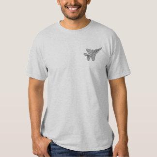 Camiseta Bordada F-15 Eagle