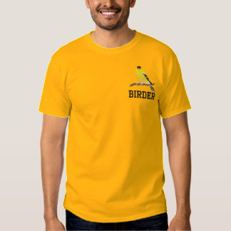 Camiseta Bordada Goldfinch americano adaptable