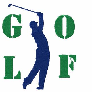 Camiseta bordada golf