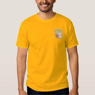 Camiseta Bordada Logotipo del empleado de correos