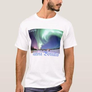 Camiseta Borealis de la aurora