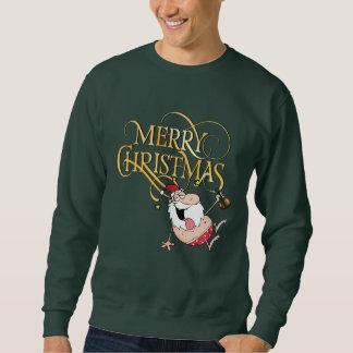 Camiseta borracha de las Felices Navidad de Santa