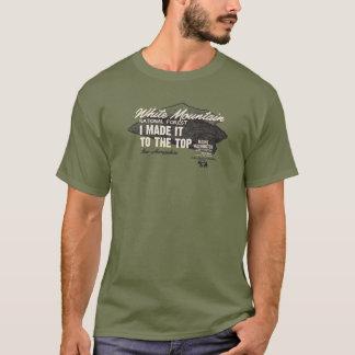 Camiseta Bosque del Estado blanco Mt Washington NH IMITTT